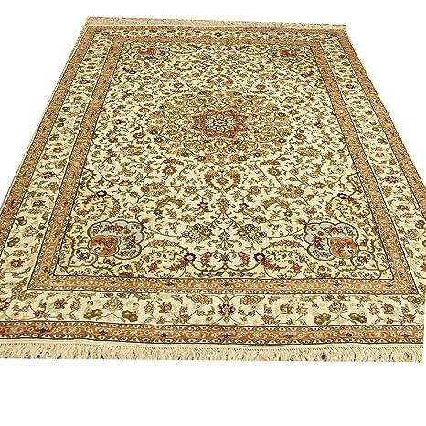 Amazon.com: Camel Carpet 6x9 Vintage Handwoven Silk ...
