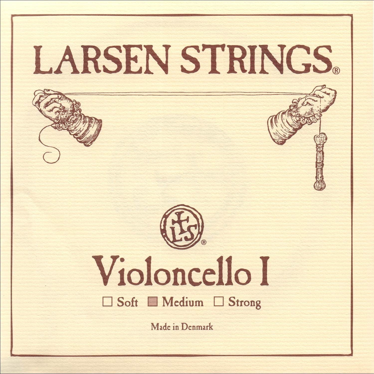 Larsen 4/4 Cello String Set Medium Gauge