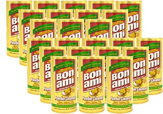 product image for Bon Ami Powder Cleanser for Kitchens & Bathrooms - All types of Surfaces, Cleans Grime & Dirt, Polishes Surfaces, Absorbs Odors (24 Pack)