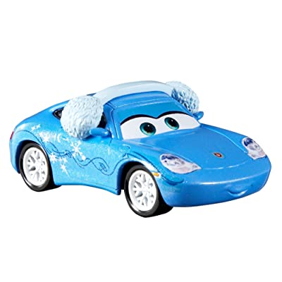 Disney Pixar Cars 3 Holiday Diecast Singles Holiday Sally Vehicle: Toys & Games