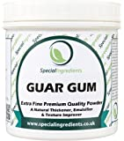 Special Ingredients Guar Gum Powder 250g Premium Quality Extra Fine Gluten Free