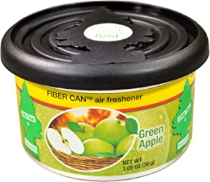 Little Trees Fiber Can Air Freshener (Green Apple)