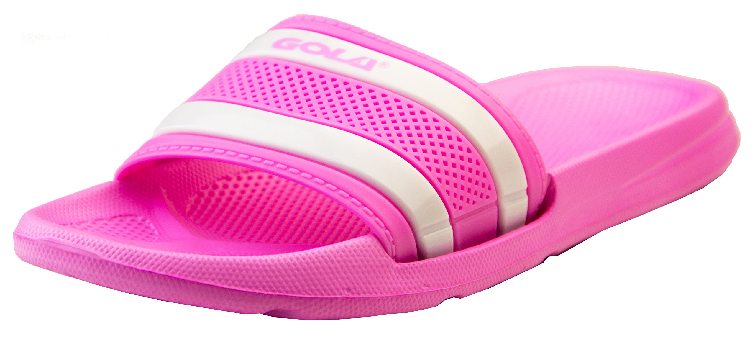 Gola Womens Pink and White Mule Sandals US 5