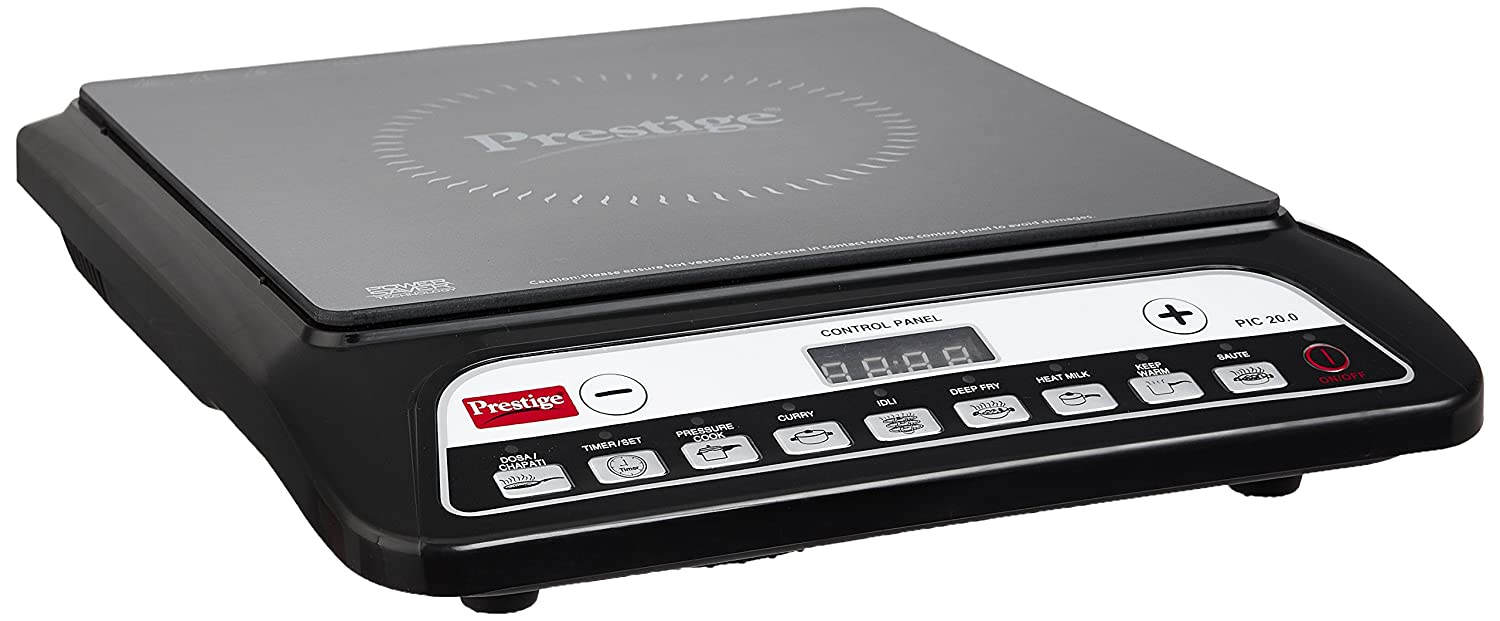 Buy Prestige Pic 20 1200 Watt Induction Cooktop With Push Button Cooker Circuit Diagram As Well Wiring Also Air Black Online At Low Prices In India