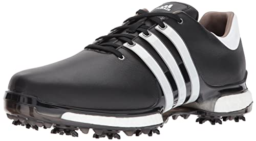 quality design b940a eaf81 Adidas Tour 360 Boost 2.0 - Zapatillas de Golf para Hombre, NegroBlanco (