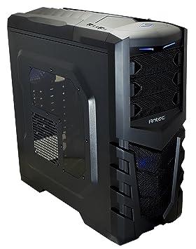 Antec 0-761345-15505-2 - Carcasa de Ordenador, Color Negro