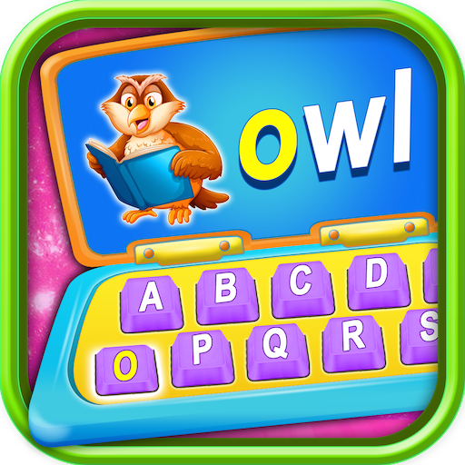 Kids Computer - Alphabet, Number, Animals Computer Learning Game -