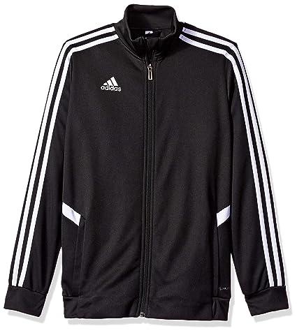 adidas Alphaskin Tiro Youth Training Jacket, BlackWhite