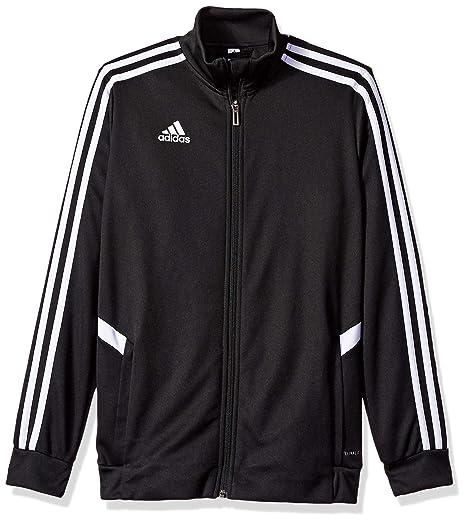 e1352779d2cec Amazon.com: adidas Youth Alphaskin Tiro Youth Training Jacket: Clothing