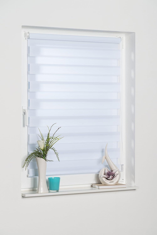 Sonnenschutz Plissee Jalousien Rollo Tür ohne Bohren Faltrollo Sicht Klemmfix