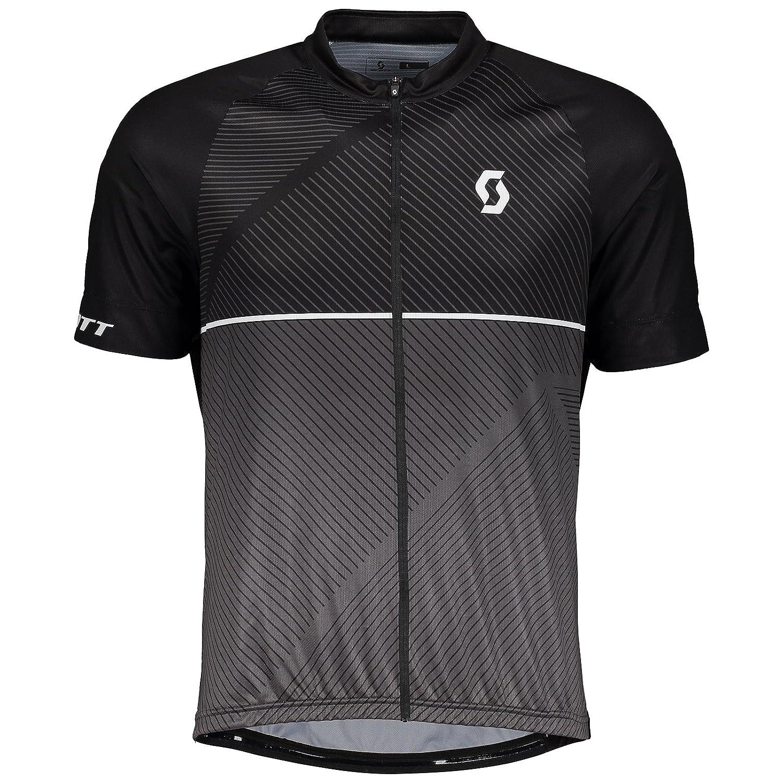 Scott Endurance 30 Fahrrad Trikot kurz schwarz/grau 2018