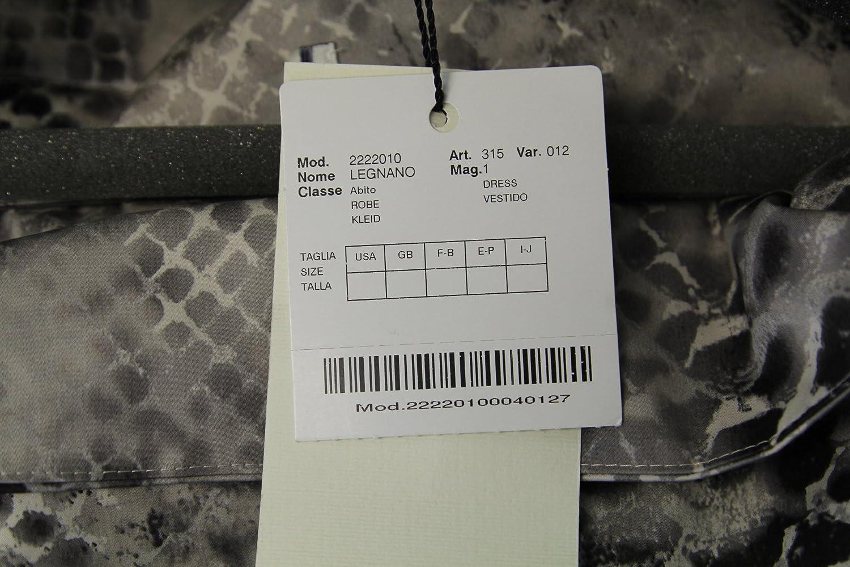 Marina Rinaldi by MaxMara Legnano Multi-Color Snake Skin Dress at Amazon Womens Clothing store:
