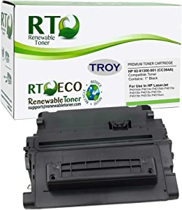Renewable Toner Compatible MICR Toner Cartridge Replacement for Troy 02-81300-001 HP CC364A 64A P4014 P4015 P4515