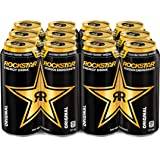 Rockstar Energy Drink, 473 mL Cans, 12 Pack