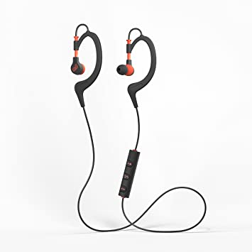 a82b0ecc56d Image Unavailable. Image not available for. Colour: Mixx Secure Fit  Wireless Bluetooth Sports Earphones ...
