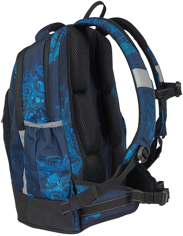 9d6573a4d3655 Syderf naps Schulrucksack Pacific Blue 74 blue  Amazon.de  Bürobedarf    Schreibwaren