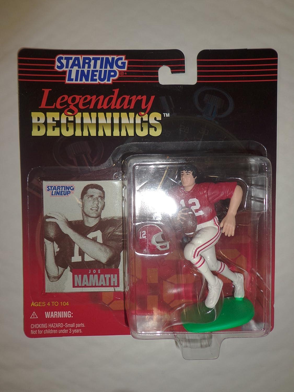 Alabama Starting Lineup >> Joe Namath University Of Alabama Crimson Tide 1998 Timeless Legends Legendary Beginnings Kenner Nfl Starting Lineup Exclusive Collector Trading