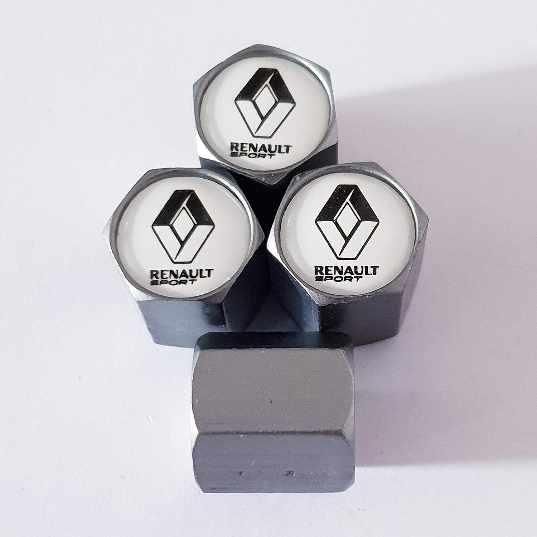 Speed Demons Renault Sport Matte Grey Roue Valve Bouchons de Protection pour Tous Les mod/èles