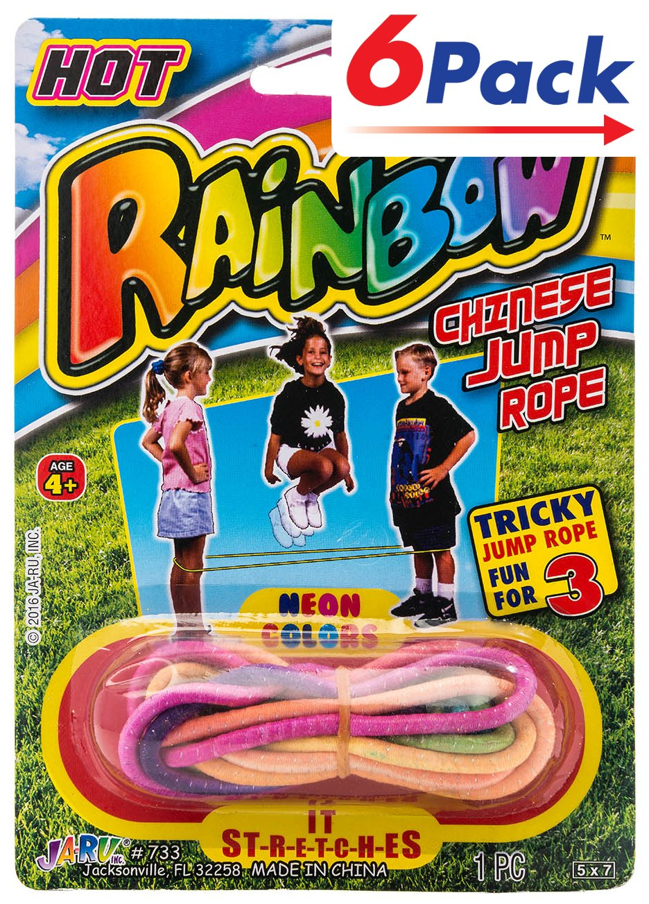 2CHILL Chinese Jump Rope (Pack of 6) Item #733-6