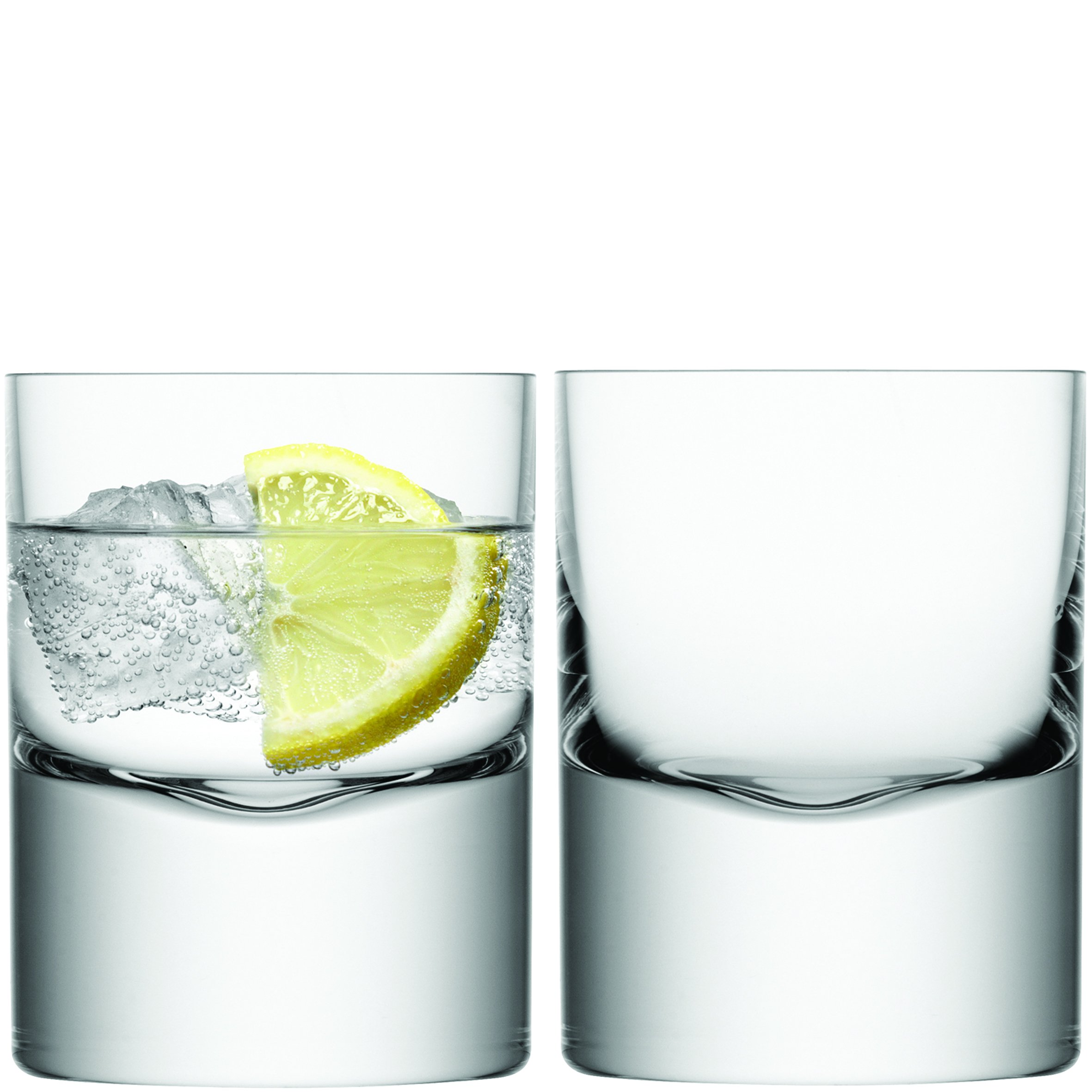 LSA International Boris Double Old Fashioned Tumbler (2 Pack), 260 ml., Clear