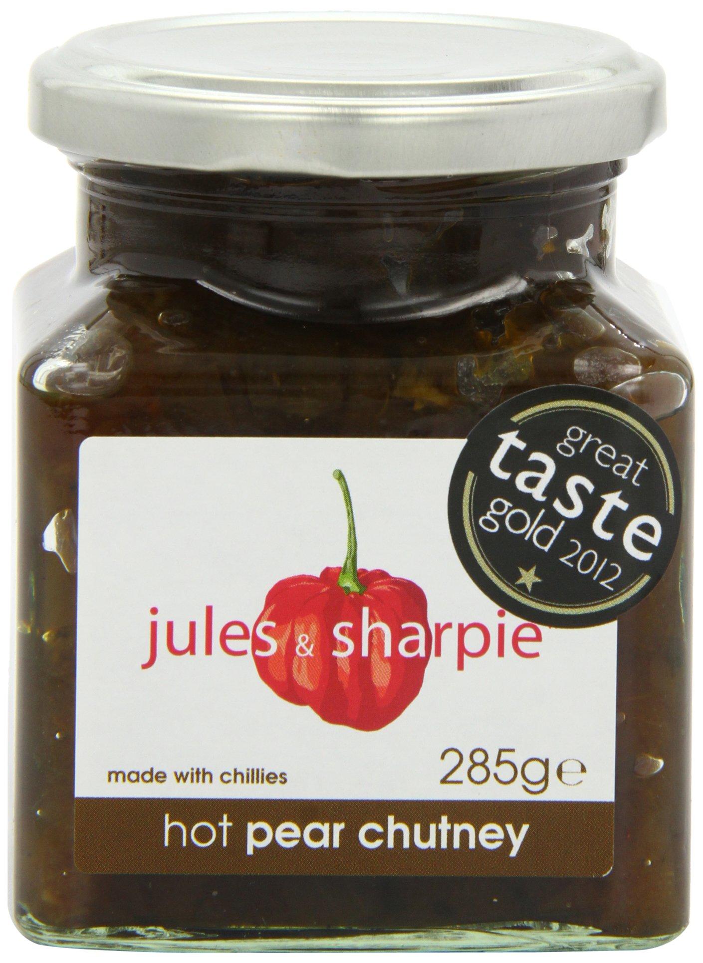 Jules & Sharpie Hot Pear Chutney (285g) by Jules & Sharpie