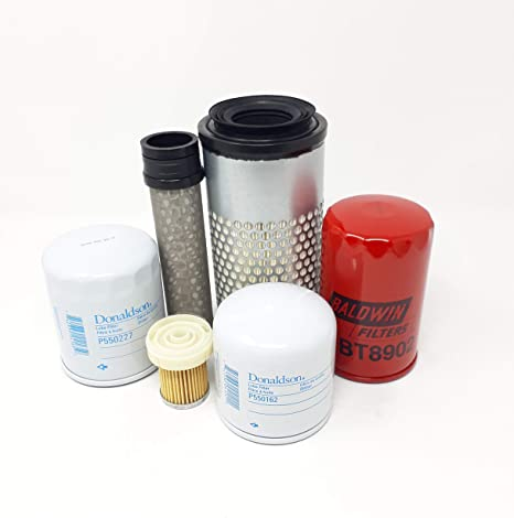 Kubota M8540 Filter Service Kit