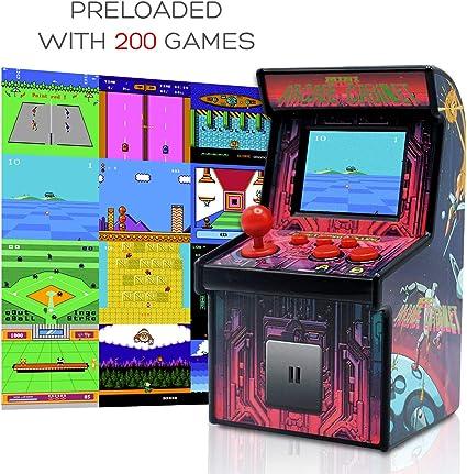 Amazon Com Funderdome Battery Powered Mini Arcade Game Arcade