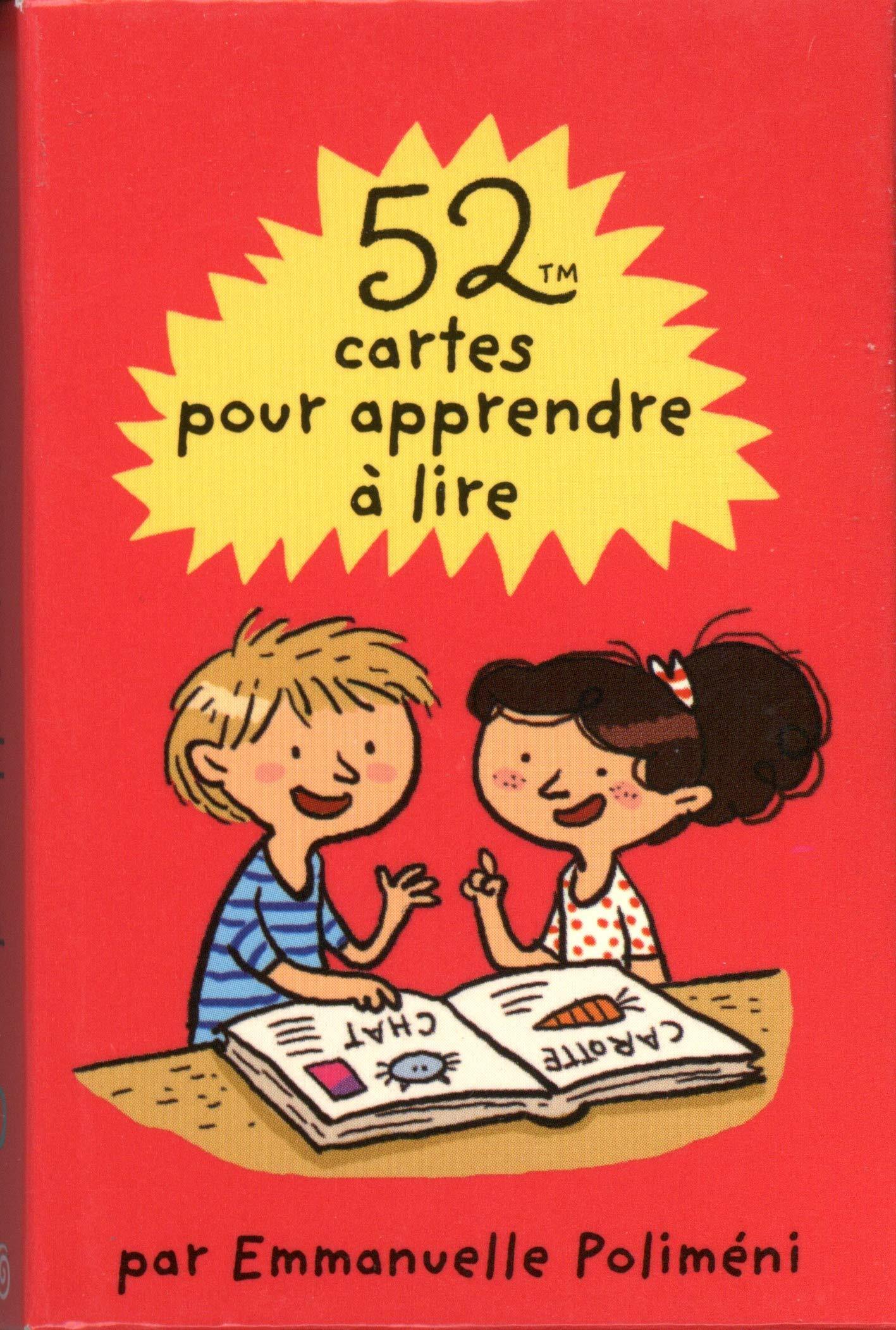 52 Cartes Pour Apprendre A Lire 52 Activites French Edition Polimeni Emmanuelle 9782351557785 Amazon Com Books