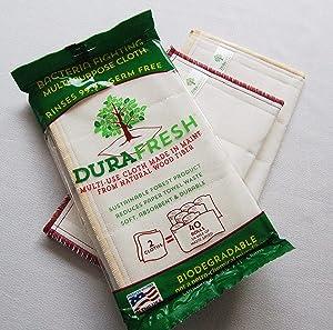 Durafresh, Bio Cloth Multi Use Eco Sustainable, 2 Count