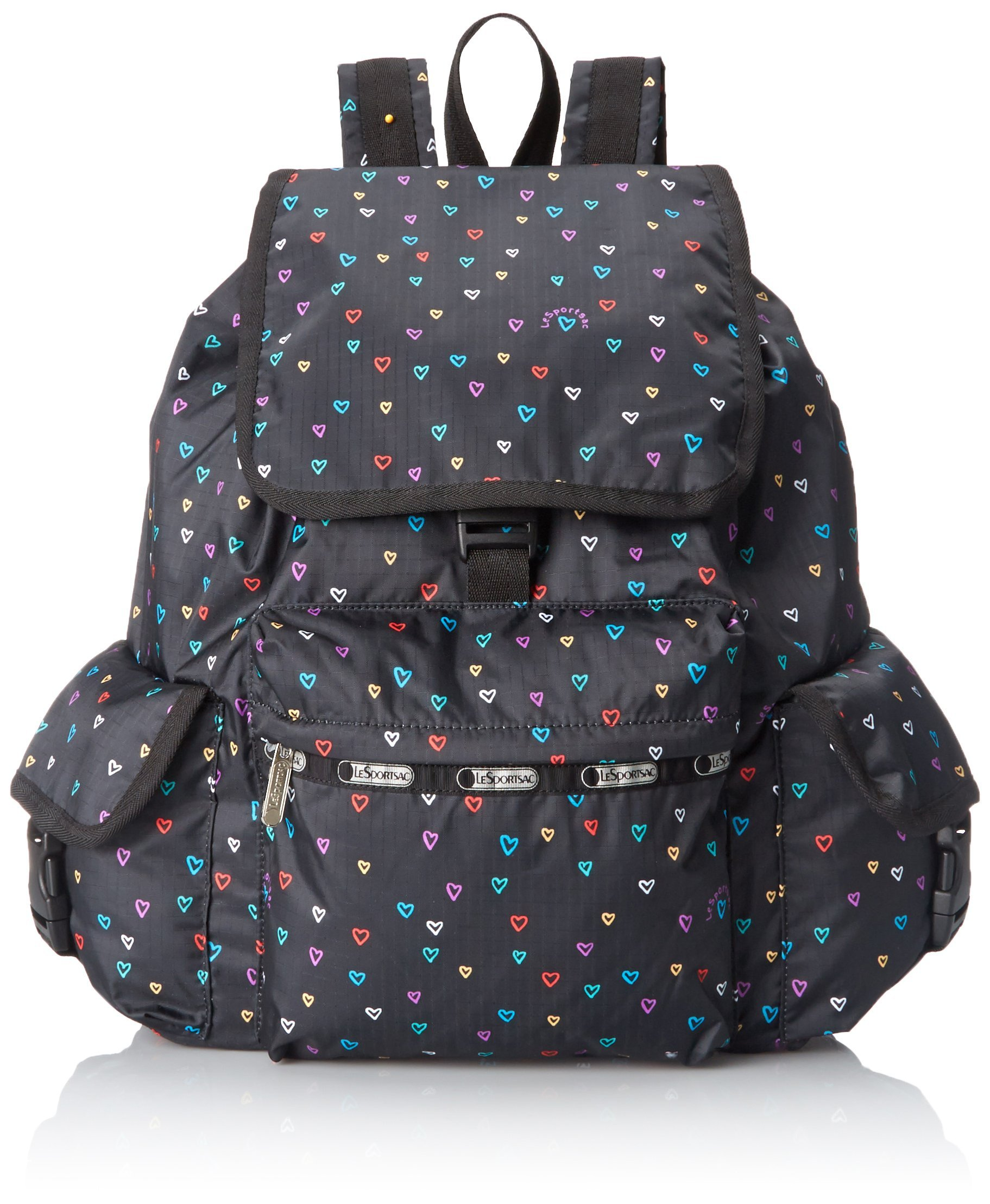 LeSportsac Voyager Backpack, Love Drops, One Size