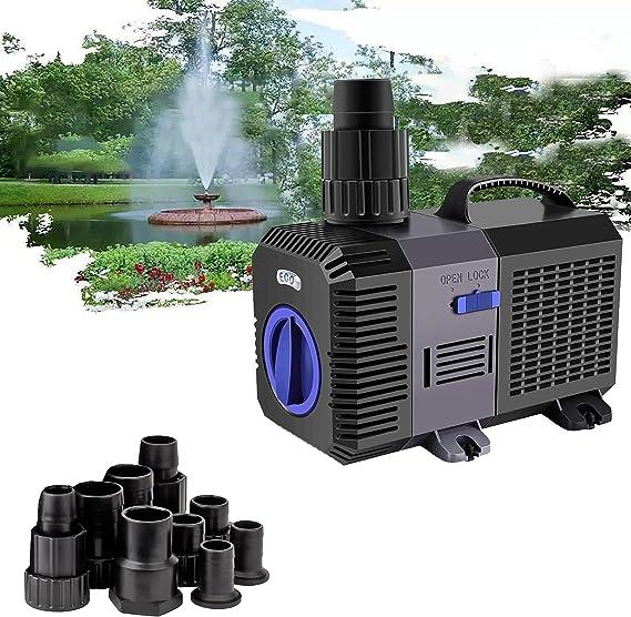 20W 900l//h ECO Teichpumpe Tauchpumpe Aquariumpumpe Wasserpumpe Kleine Teich