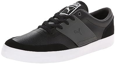 Puma El Ace 4- Black tennis shoes
