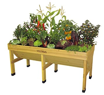 Amazoncom Vegtrug VTNMD 0367 USA Medium Planters Patio Lawn
