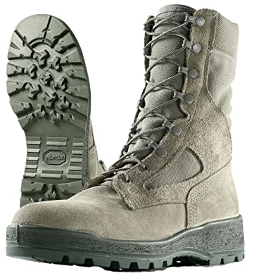 Combat Boots Sage Green Steel Toe Size 6W