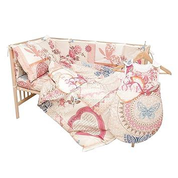 Patichou 100 Baumwolle Kinder Bettwäsche Vintage Love
