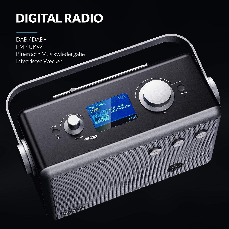 Sky Vision Stereo Dab Radio Portable And With Bluetooth Elektronik