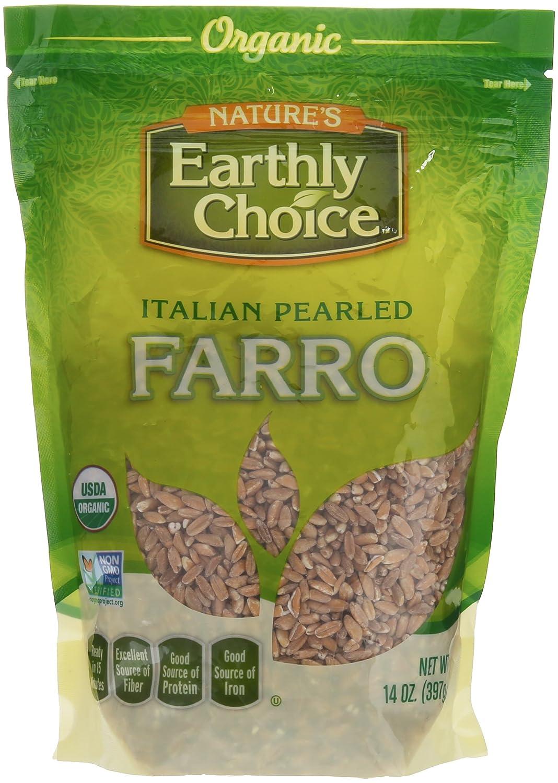Nature's Earthly Choice - Organic Italian Pearled Farro - 14 oz.
