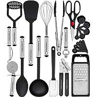 Home Hero Kitchen Utensil Set - Nylon Cooking Utensils - Kitchen Utensils with Spatula - Kitchen Gadgets Cookware Set - Best Kitchen Tool Set