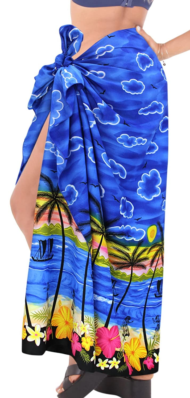 Marrone Pareo sarong beachwear