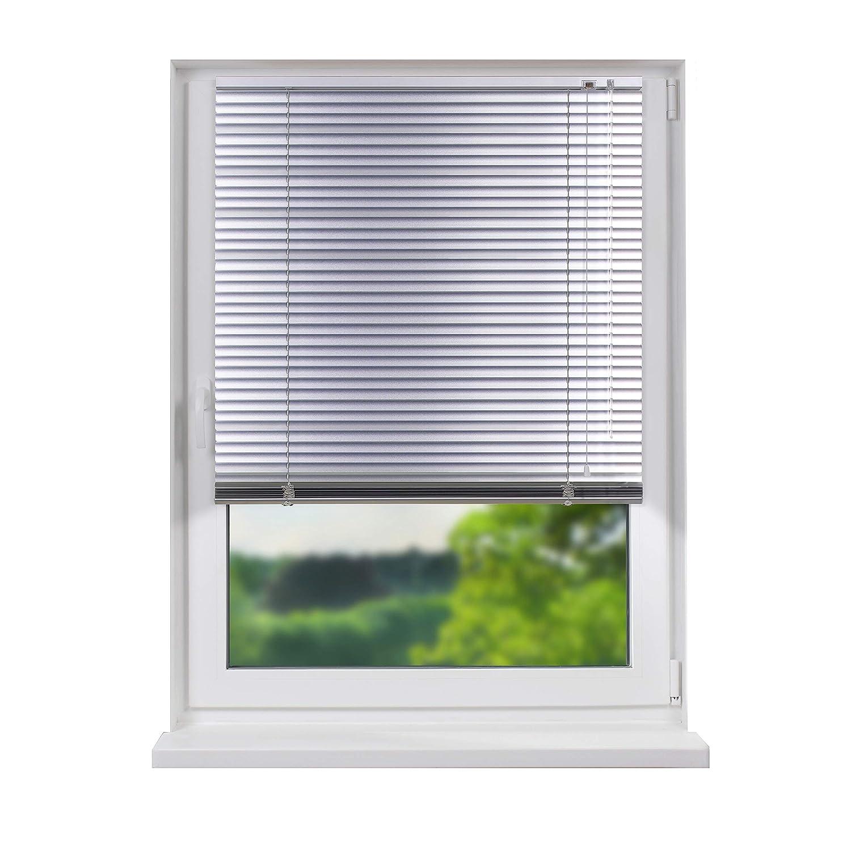Fensterdecor Standard Aluminium Jalousie Silber 200 x 240 cm (BxH)