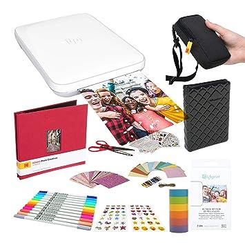 Lifeprint Impresora portátil de fotografía y Video 3x4.5 ...