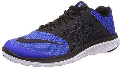 beautiful Nike Men's FS Lite Run 3 Running Shoes - Grey/Neon BGE275nqh59T
