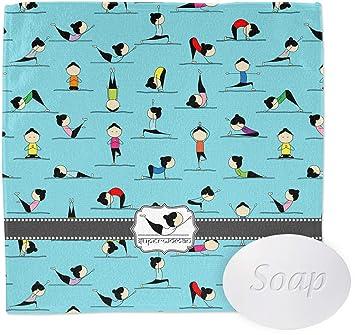 Amazon.com: Posturas de Yoga paño de lavado (personalizado ...
