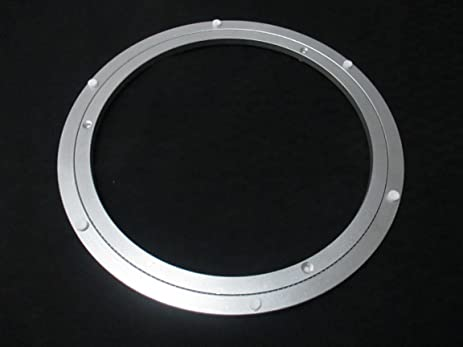 Metal Turntable Lazy Susan Ring Table Stainless Steel Turn 11.75u0026quot; ...