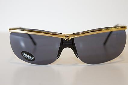 8ac71f7f70 Amazon.com   Gargoyles Legend Sunglasses (Gold Frame with Black Ice ...