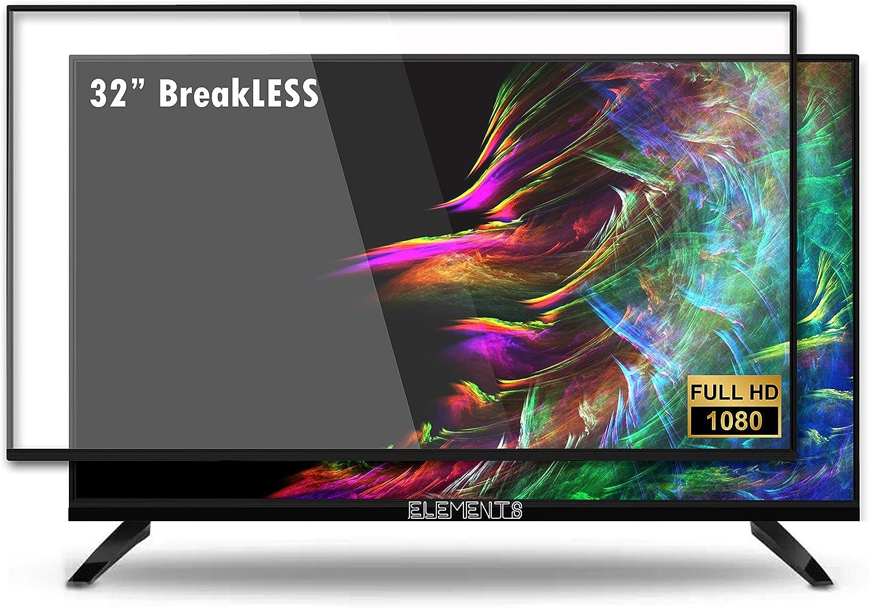 ELEMENTS - Televisor LED multimedia sin componentes (Full HD, Smart TV, sintonizador triple, HDMI, USB 2X, mando a distancia, Dolby HiFi): Amazon.es: Electrónica