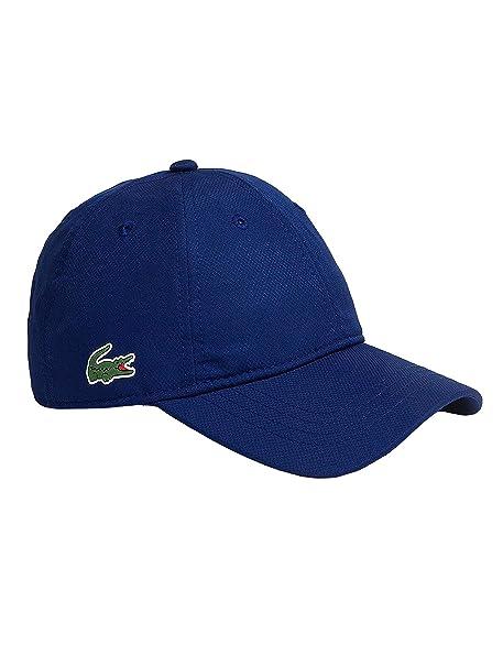 Cappello Lacoste Sport blu TU Blue  Amazon.it  Abbigliamento 97bdbd542103