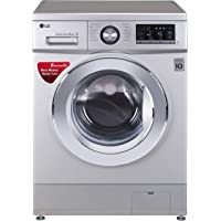 LG 8.0 kg Fully-Automatic Front Loading Washing Machine (FH2G6TDNL42, Silver)