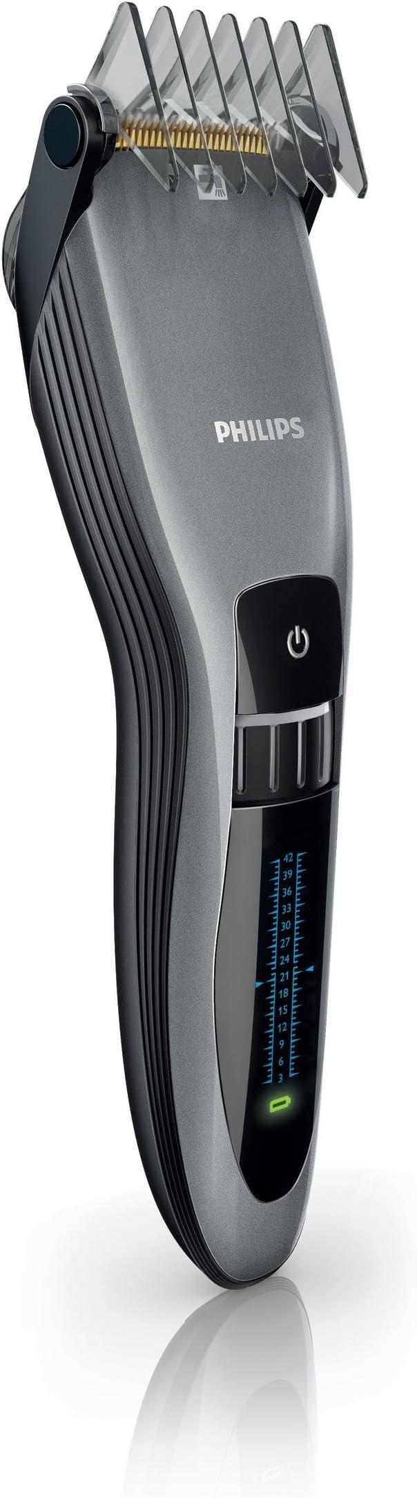 Philips QC5390/80 - Cortapelos, 41 milímetros, con indicador de ...