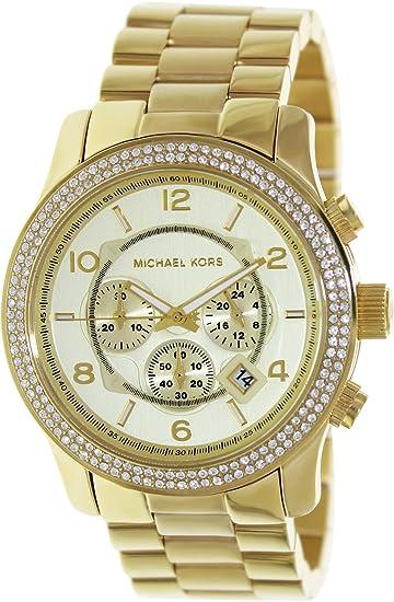 Michael Kors Reloj analogico para Mujer de Cuarzo con Correa en Acero Inoxidable MK5575: Michael Kors: Amazon.es: Relojes